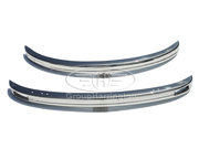 VW Beetle 1975 and onwards brand new stainless steel bumpers