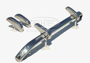 Triumph TR2 TR3 stainless steel bumpers,  TR 2 3,  brand new