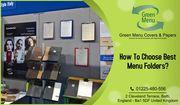 Best Menu Folders For Your Restaurant Business
